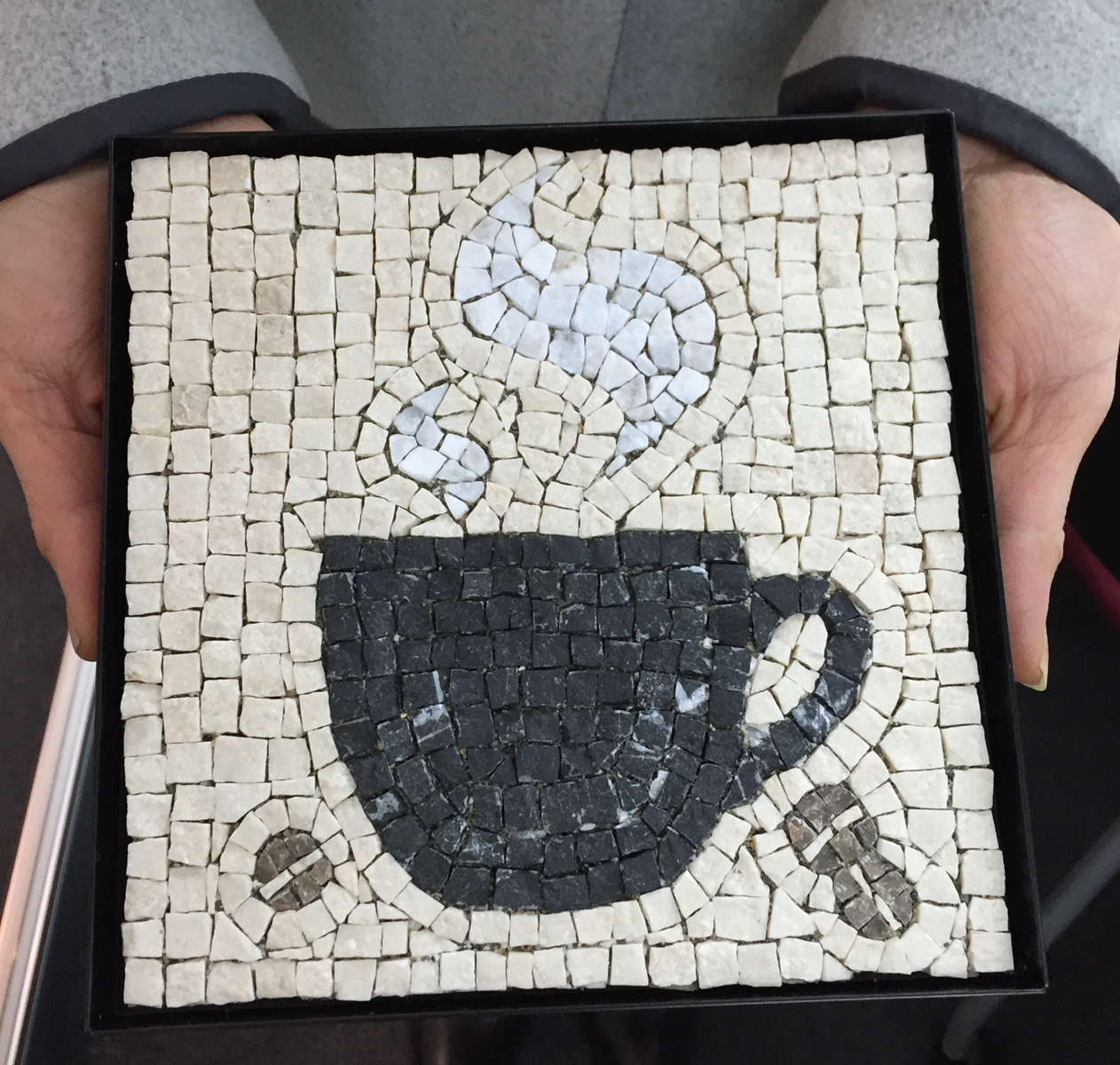 コーヒー モザイク